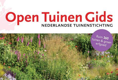 Rectificatie Open Tuinen Gids 2021