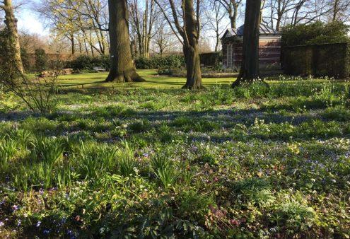 27 april: Theehuis en parktuin van mv van Best bij BinnensteBuiten